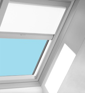 velux solar roller blinds to be used with fixed deck mounted skylights size d26. Black Bedroom Furniture Sets. Home Design Ideas