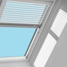 VELUX Manual Venetian Blinds to be used with Fixed Deck Mounted Skylight size M02